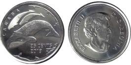 25 центов 2013 Канада — Жизнь на севере