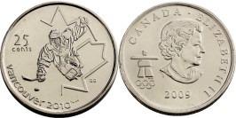 25 центов 2009 Канада — X зимние Паралимпийские Игры, Ванкувер 2010 — Хоккей на санях