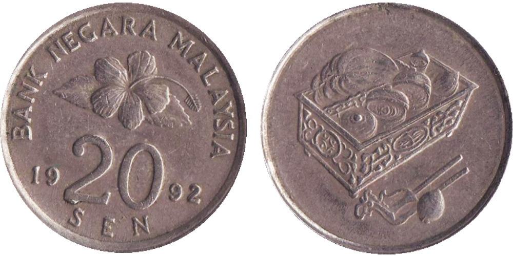 20 сен 1992 Малайзия