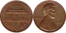 1 цент 1975 США