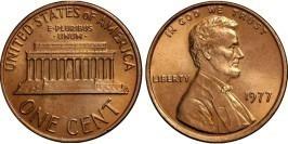 1 цент 1977 США