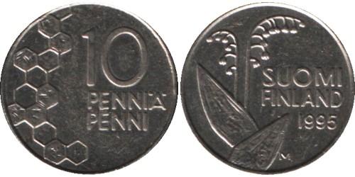 10 пенни 1995 Финляндия