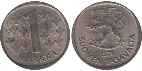 1 марка 1978 Финляндия