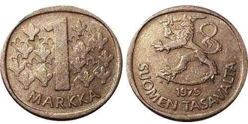 1 марка 1979 Финляндия