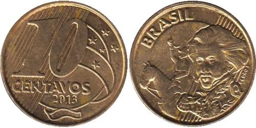 10 сентаво 2013 Бразилия