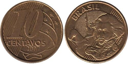 10 сентаво 2007 Бразилия