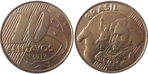 10 сентаво 2012 Бразилия