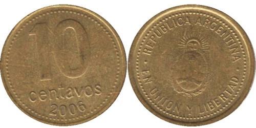 10 сентаво 2006 Аргентина