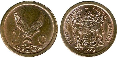 2 цента 1995 ЮАР