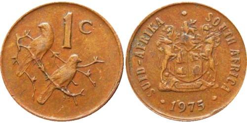 1 цент 1975 ЮАР