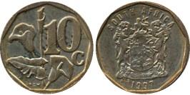 10 центов 1997  ЮАР