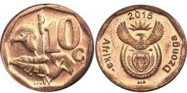 10 центов 2015 ЮАР