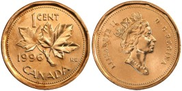 1 цент 1996 Канада