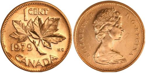 1 цент 1979 Канада