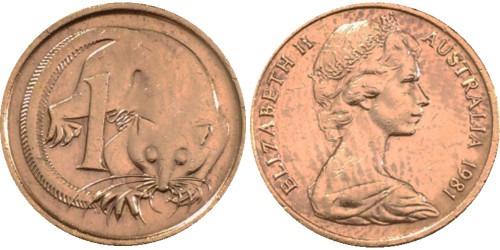 1 цент 1981 Австралия