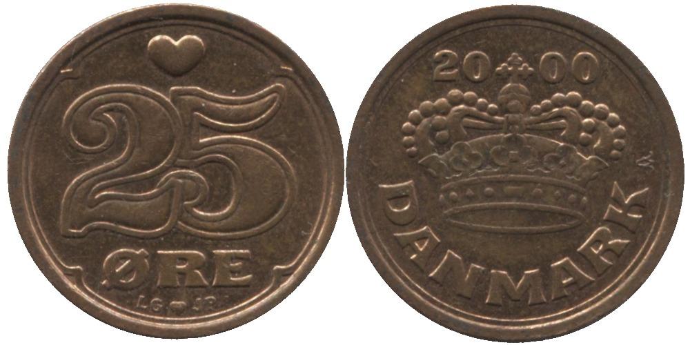 25 эре 2000 Дания