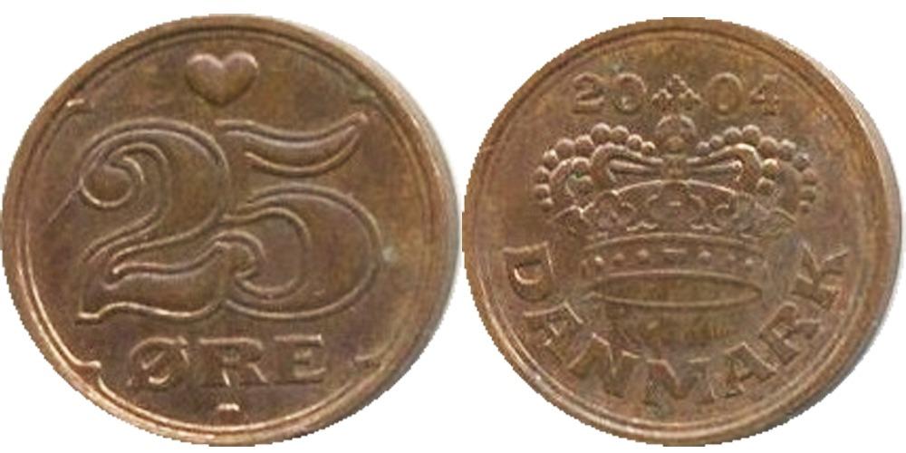 25 эре 2004 Дания