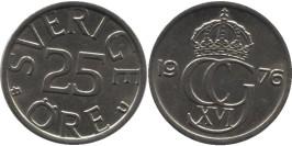 25 эре 1976 Швеция