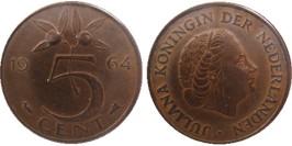 5 центов 1964 Нидерланды