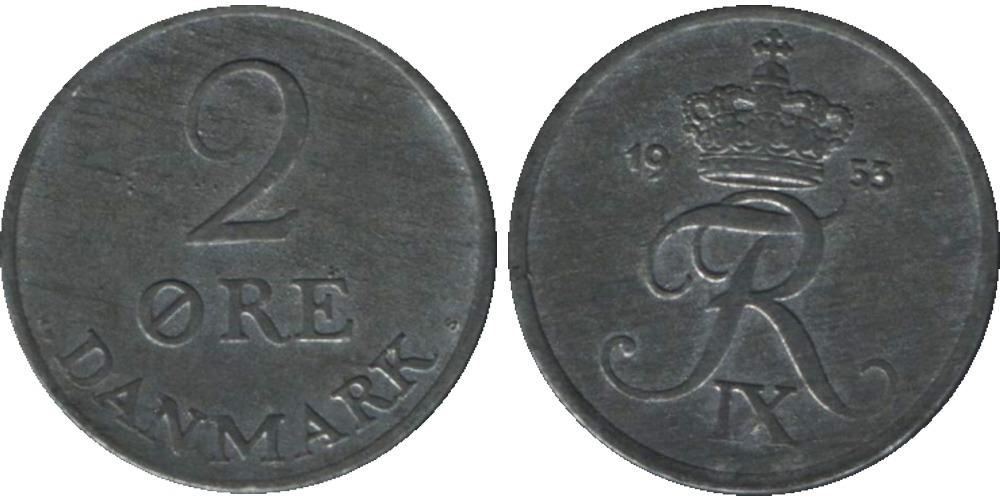2 эре 1953 Дания