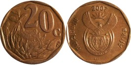 20 центов 2007 ЮАР