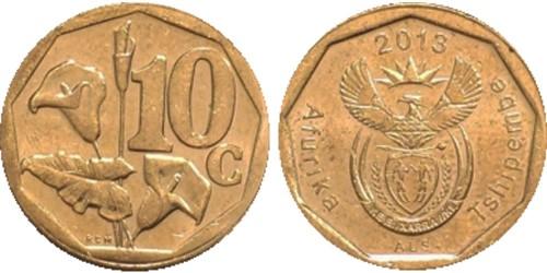 10 центов 2013 ЮАР