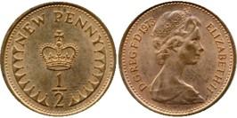 1/2 пенни 1973 Великобритания