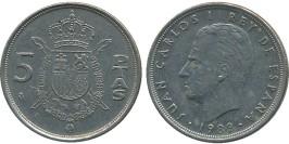 5 песет 1989 Испания