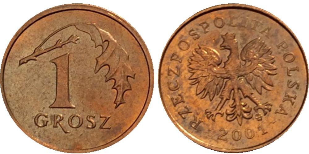 1 грош 2001 Польша