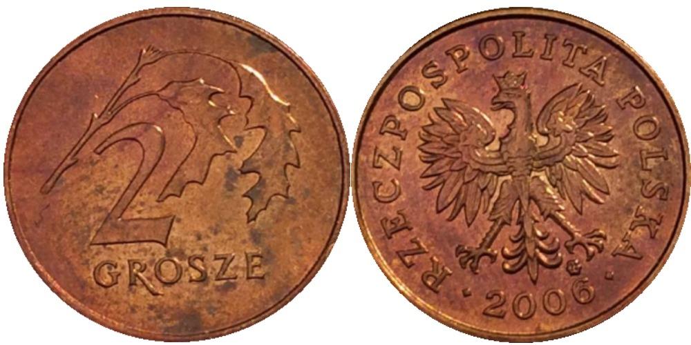 2 гроша 2006 Польша
