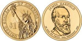 1 доллар 2011 Р США — Президент США — Джеймс Гарфилд (1881) №20
