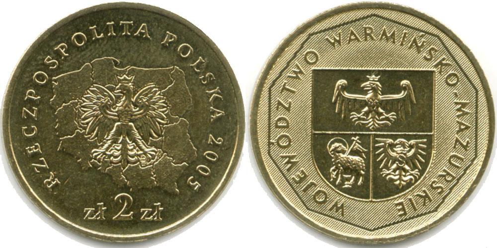 Сколько стоит 2 злотых 1994 года цена мелочь в англии