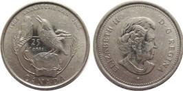 25 центов 2005 Канада — 100 лет провинции Саскачеван