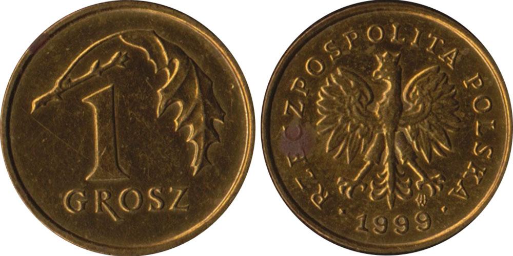 1 грош 1999 Польша