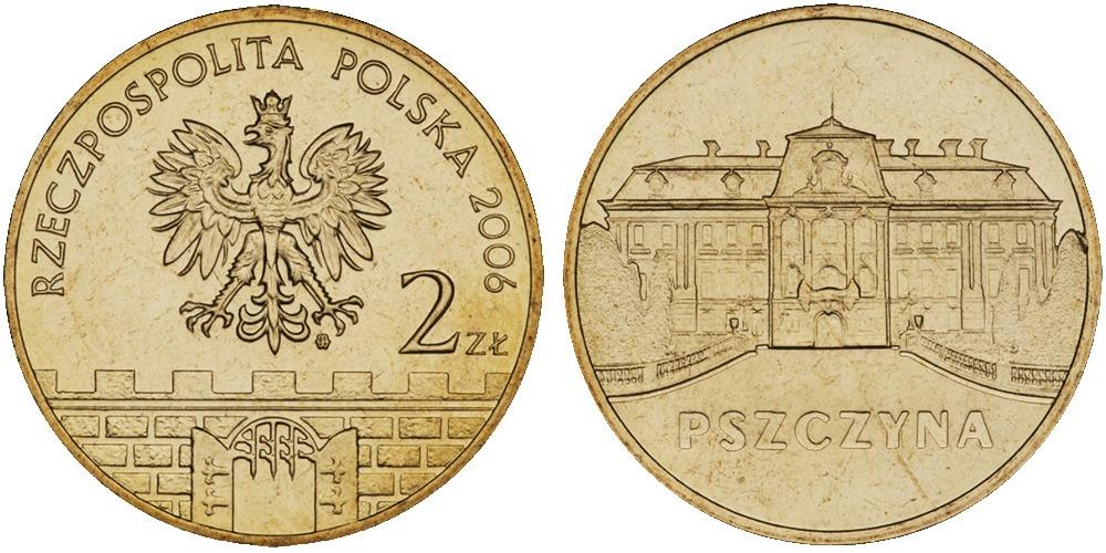 2 злотых 2006 Польша — Древние города Польши — Пщина