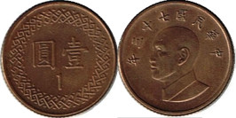 1 доллар 1984 Тайвань