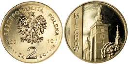 2 злотых 2010 Польша — Города Польши — Мехув