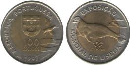 100 эскудо 1997 Португалия — Лиссабон ЭКСПО, 1998 — Тюлень