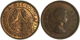 1/4 пенни 1953 ЮАР (Британская Южная Африка)