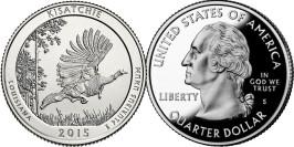 25 центов 2015 S США — Национальный лес Кисатчи