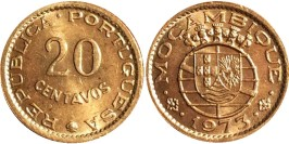 20 сентаво 1973 Мозамбик