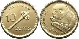 10 центов 2012 Фиджи — Летучая лисица