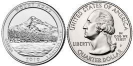 25 центов 2010 P США — Национальный лес Маунд Худ  (Орегон)