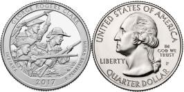 25 центов 2017 P США — Национальный исторический парк имени Джорджа Роджерса Кларка (Индиана)