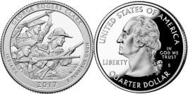 25 центов 2017 S США-Национальный исторический парк имени Джорджа Роджерса Кларка Индиана-George UNC