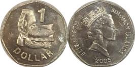 1 доллар 2005 Соломоновы острова