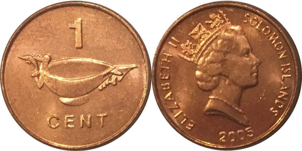 1 цент 2005 Соломоновы острова
