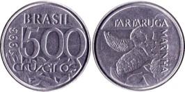 500 крузейро 1993  Бразилия UNC
