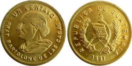 1 сентаво 1991 Гватемала