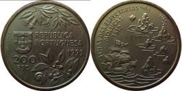 200 эскудо 1995 Португалия — Путешествие на Молуккские острова в 1512 году